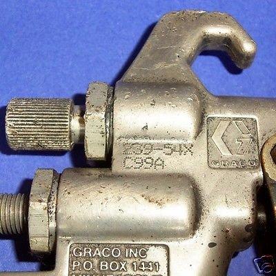 """GRACO 1/4""""NPT 100PSI 140°F DELTA SPRAY™ HVLP SPRAY GUN 239-54X C99A*"""