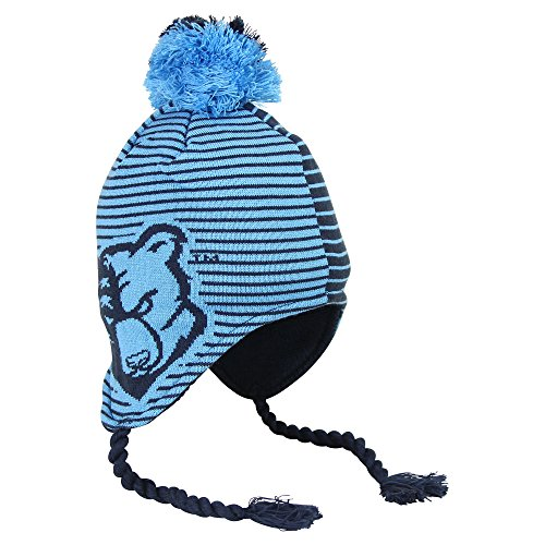 Adidas NCAA Slope Style Winter Knit Hat with Pom (Bob Jones University Bruins) (Jones Hat)