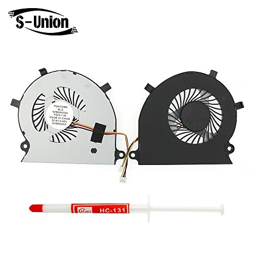 S-Union New Laptop CPU Cooling Fan For Toshiba Satellite Radius P55W-B P55W-B5112 P55W-B5318 P55W-B5220 P55W-B5224 Series Replacement P/N:BAAA0705R5H With Thermal Grease -  GA