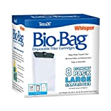 Tetra 26163 Whisper Bio-Bag Cartridge, Unassembled, Large, 8-Pack