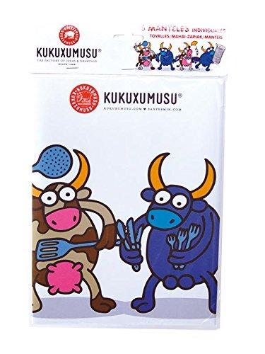 Kukuxumusu - 6 manteles papel individual, 27x40 cm (Verbetena 016001037): Amazon.es: Juguetes y juegos