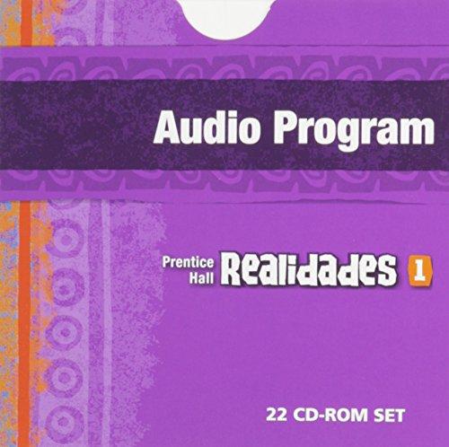 PRENTICE HALL SPANISH REALIDADES AUDIO PROGRAM LEVEL 1 FIRST EDITION 2004