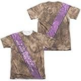 Mud Wrestling Champ Unisex Adult Sublimated Poly/Cotton T Shirt for Men and Women