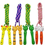 SACKORANGE Jump Rope with Wood Handles for Kids - Great for Outdoor Fun Activity,Party Favor,...