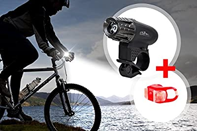 ZipBike - Premium USB Rechargeable Bike Flashlight Top Power Waterproof Brightest 320 Lumens Bike Headlight - Easy Installation, Energy-Saving, Explosion-Proof LED Bike Light For Safe Cycling At Night