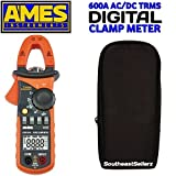 Ames 600A T-RMS AC/DC Clamp Meter
