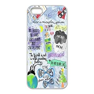 Popluar the Fault in Our Stars.okay. Hard Plastic phone Case Cover For Apple Iphone 5 5S Cases FANS254724