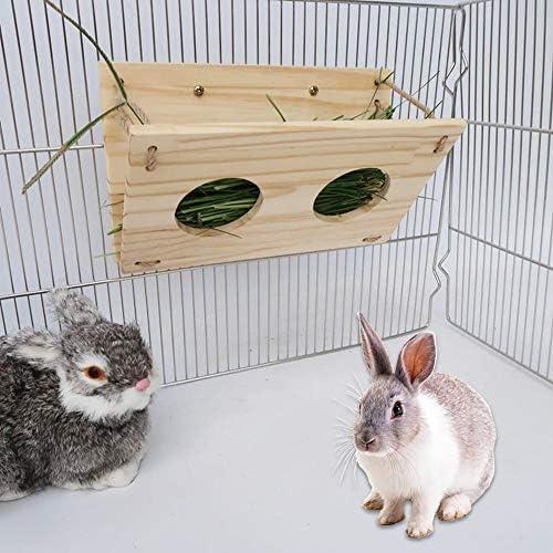 Renoble Hasenheufuttertrog - Rahmen für Grasfuttertrog für Meerschweinchenschildkröte. 18x30cm apposite