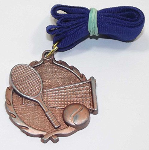 Special Olympics Copper Color 3rd Place Tennis Medallion (Tennis Medallion)
