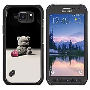 For Samsung Galaxy S6Active Active G890A Case , Pico de la puesta del sol- Diseño Patrón Teléfono Caso Cubierta Case Bumper Duro Protección Case Cover Funda