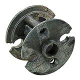 Baldwin 6502.009 Pre-Drilled Door Adaptor,2.125