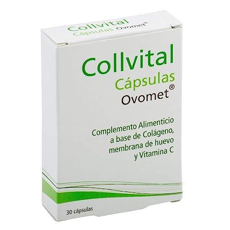 Colágeno hidrolizado + Acido hialurónico + Vitamina C + Zinc y Magnesio + OVOMET en cápsulas