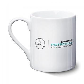 Mercedes Benz Ceramic Mug With Logo Team Amg F1 Black White One