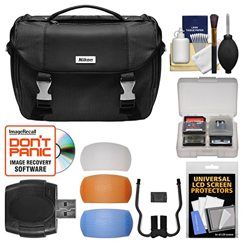 Nikon-Deluxe-Digital-SLR-Camera-Case-Gadget-Bag-with-Pop-up-Filter-Set-Kit-for-Df-D610-D750-D810-D7100-D7200-D5500-D5600-D3300-D3400