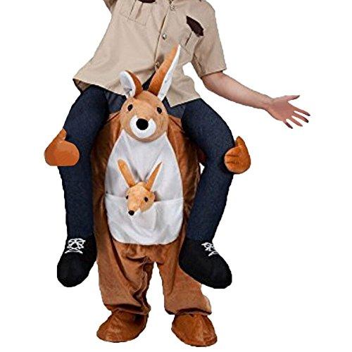 Kangaroo Mascot Costumes (Unisex Ride On Riding Shoulder Adult Costume,Kangaroo Costume)