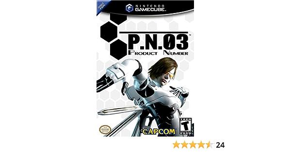 P.N.03 (Product Number 03) - GameCube by Capcom: Amazon.es: Videojuegos