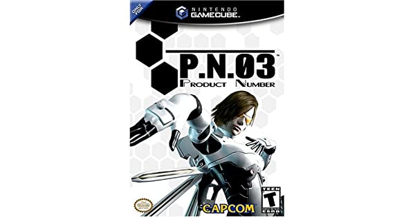 P.N.03 (Product Number 03) - GameCube by Capcom: Amazon.es: Videojuegos