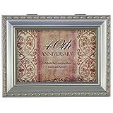 40th Anniversary Musical Jewelry Box - 40th Anniversary Gift