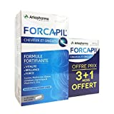Cheap Arkopharma Forcapil Vitamins for Hair Loss, Volumizing, and Nails 180 Caps+ 60 Caps for Free