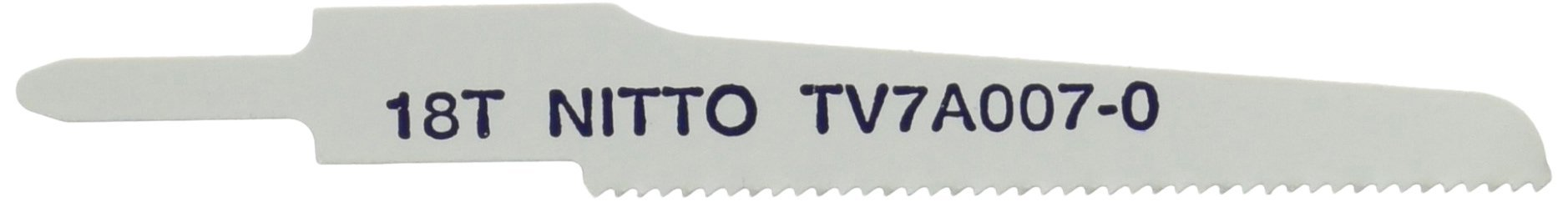 Nitto Kohki TV7A007-0 Bi-Metal Saw Blades for SSW-110 Super Saw, 18 TPI (Pack of 5)