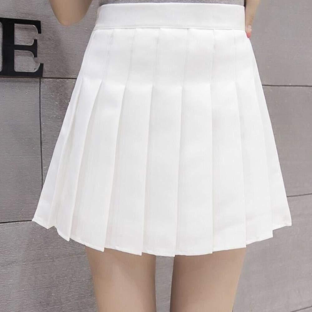 HSDFKD Harajuku Schoolgirl Plaid Faldas Plisadas Mujeres Verano ...