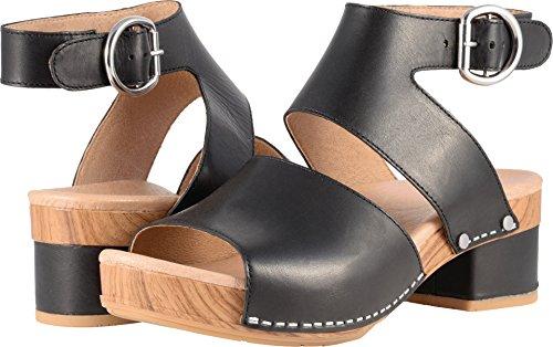 Dansko Womens Minka Black Full Grain Sandal - 39 ()