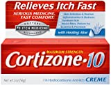 Cortizone-10 Plus Maximum Strength Hydrocortisone Anti-Itch Creme Plus Moisturizers, 2-Ounce Tubes (Pack of 3)