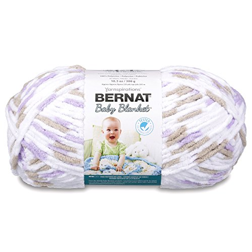 Bernat Baby Blanket Big Ball Little Lilac Dove