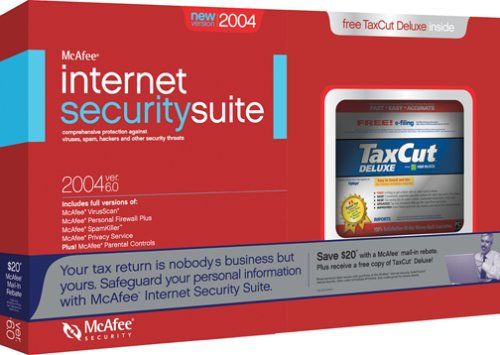McAfee Internet Security 2004 and TaxCut Deluxe 2003 Bundle
