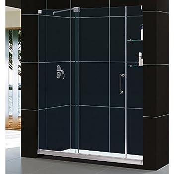 frameless sliding shower doors 1300mm reviews width door glass chrome finish hardware kit