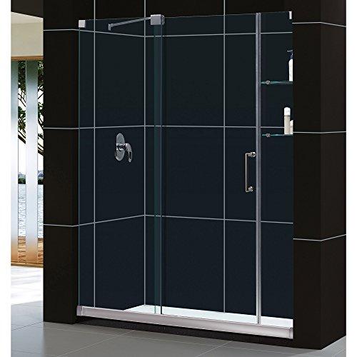DreamLine Mirage 56-60 in. Width, Frameless Sliding Shower Door, 3/8