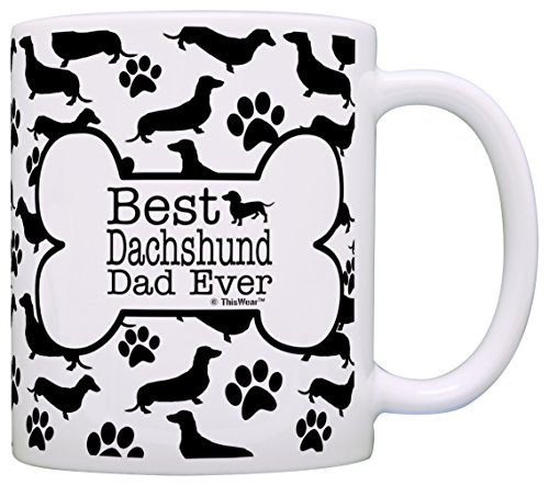 Owner Gifts Dachshund Pattern Coffee product image