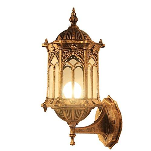 Ehime Illuminazioni per pareti Lampade da parete Illuminazione per esterni Lanterne Luci da parete Outdoor luci da parete giardino villa giardino luce da parete lampada impermeabile luci outdoor balconi esterni appeso luci spente le luci per la circolazio