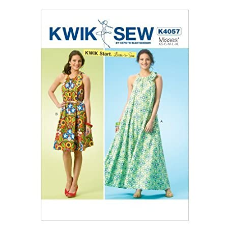 All Sizes by McCall Pattern Company MCCBH us kitchen KWIK-SEW PATTERNS K4057 Misses Dresses