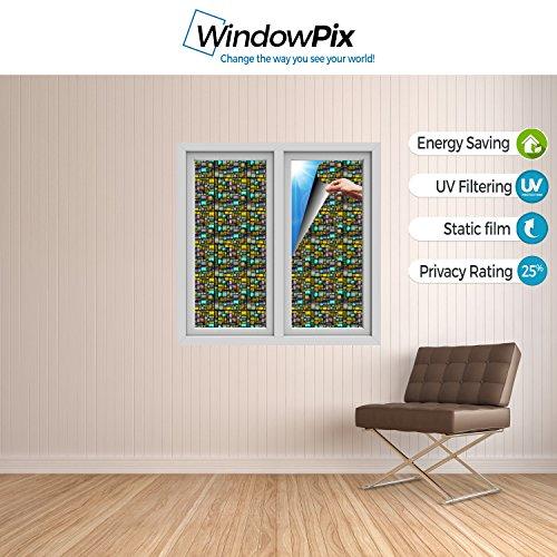 Windowpix WF108-24x96 24x96 Decorative Static Cling Window Film by Windowpix (Image #3)
