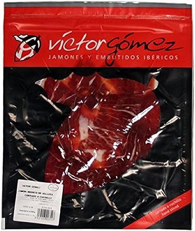 Jamón Ibérico de Bellota (Cortado a Mano, 100 g) - Víctor Gómez: Amazon.es: Alimentación y bebidas