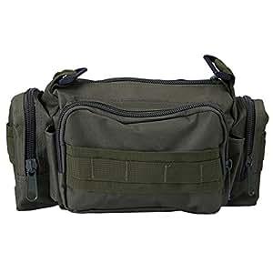 Travel Bag Waist Pack Military Tactical Strap Adjustable for Conversion to Shoulder Bag Water Resistant MOLLE Combat Range Bag Fanny Pack
