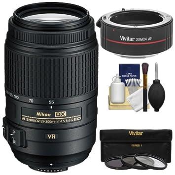 Amazon com : Nikon 55-300mm f/4 5-5 6G VR DX AF-S ED Zoom