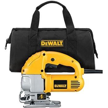 Dewalt dw317k 55 amp top handle jig saw kit power jig saws dewalt dw317k 55 amp top handle jig saw kit greentooth Choice Image