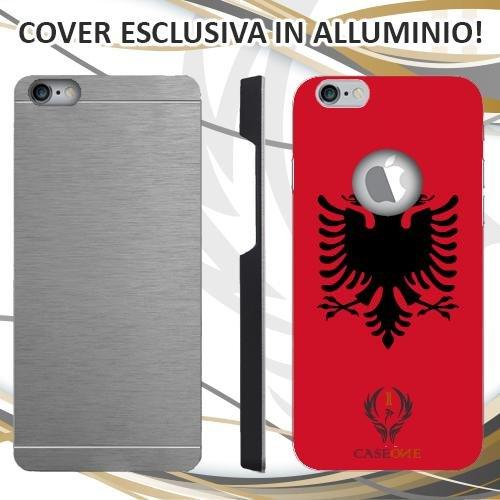 CUSTODIA COVER CASE ALBANIA PER IPHONE 6 PLUS IN ALLUMINIO