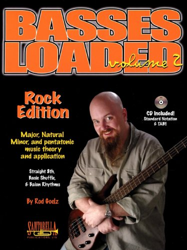Basses Loaded, Volume 2: Rock Edition - Major, Natural, Minor, And Pentatonic Music Theory And Application