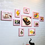 ZGP Home@Wall photo frame Tea Shop Hamburger Pizza Fast Food Restaurant Combination Painting Decorative Painting Juice Drinks Creative Painting Mural Photo Wall (Color : F)