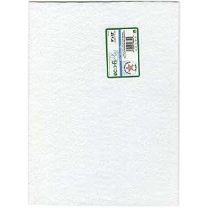 """Kunin Eco-Fi Plus 10000395 Felt Ecofi Plus Premium White 9X12"""" .125"""" Thick 9"""" by 12"""","""