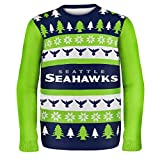 NFL Seattle Seahawks WORDMARK Ugly Sweater, X-Large