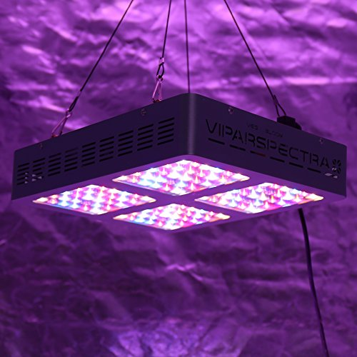VIPARSPECTRA Reflector-Series V600 600W LED Grow Light Full Spectrum for Indoor Plants Veg and Flower