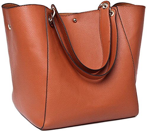 SQLP Women's Waterproof Handbags ladies Leather Shoulder Bag Fashion Totes Messenger ()