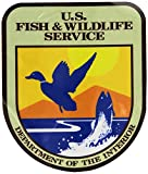 "US Fish and Wildlife Service sticker decal 4"" x 5"""