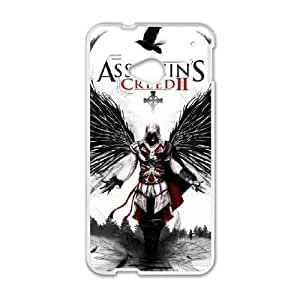 HTC One M7 Phone Cases Assassin's Creed Back Design Phone Case BBHE2100389