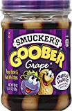 Smucker's Goober Grape PB and J Stripes, 18 Ounce