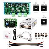 SainSmart CNC Router 3 Axis Kit, TB6600 3 Axis Stepper Motor Driver, Mach3 5 Axis Breakout Board, 3pcs Nema23 270oz-in Motor